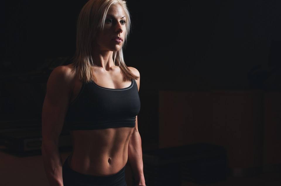 Vrouwelijke sportster