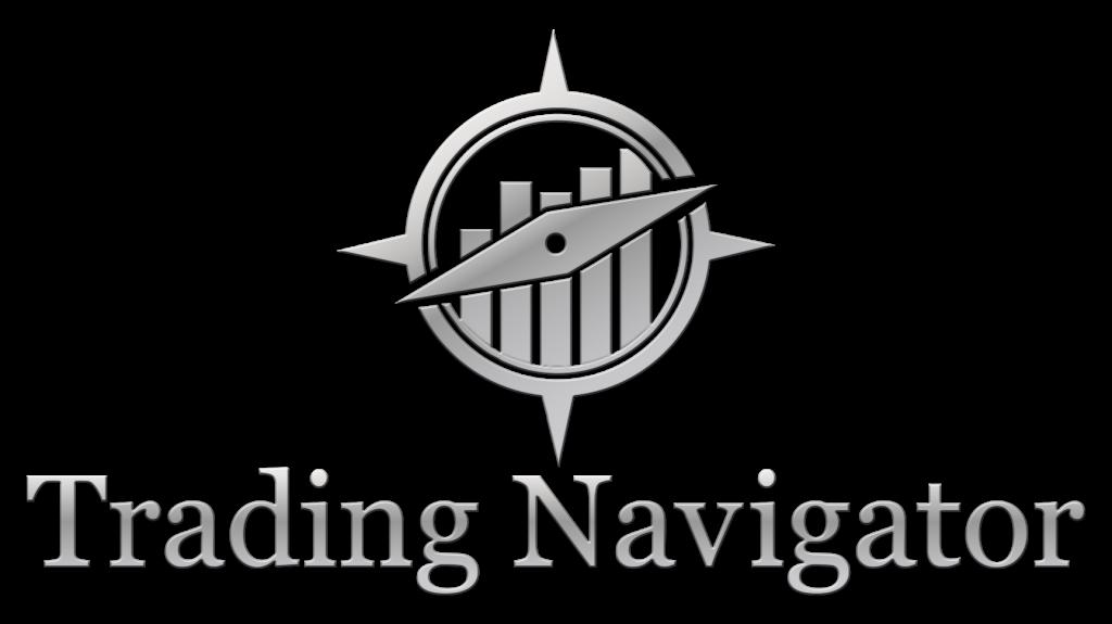 Trading navigator logo van het bedrijf.