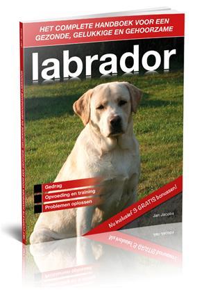 Product foto labrador handboek