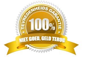 Niet goed geld terug garantie 100 %
