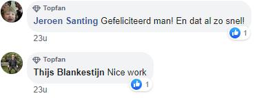 reacties facebook