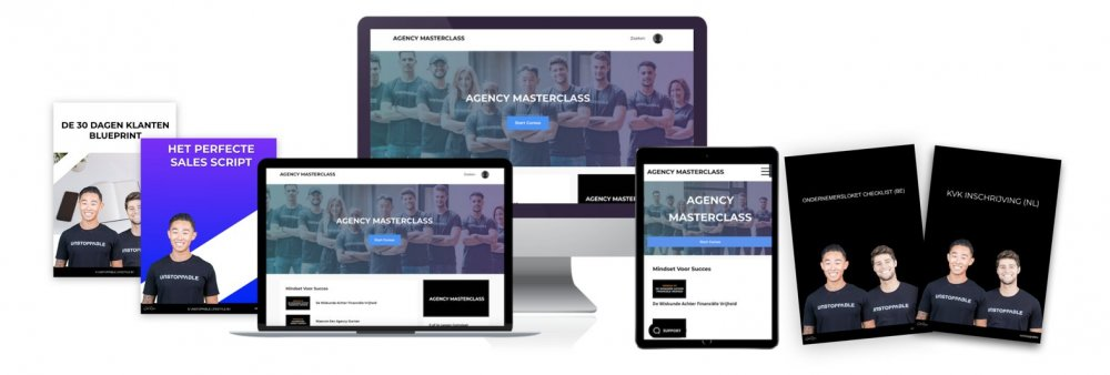 Agency masterclass product